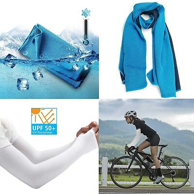 Instant Cooling Towel Ice Cold Enduring Summer Sport Running Jogging Gym Fitness