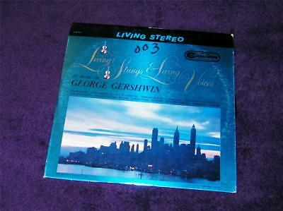 LIVING STRINGS & Living Voices Music of George Gershwin CAS-675 free ship