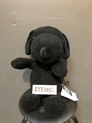 kaws snoopy Plush Large clean medicom Uniqlo Black Bearbrick Companion holiday
