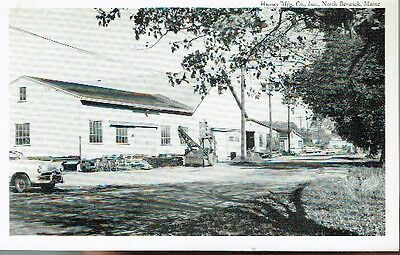 Vintage Postcard - Hussey Mfg. Co., North Berwick, Maine - Early 1900's