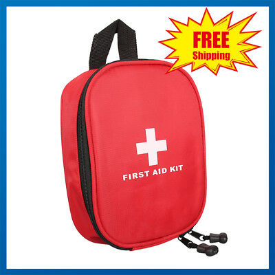 SURVIVAL Emergency First Aid KIT - Great for the Car Travel School & Sports Bag