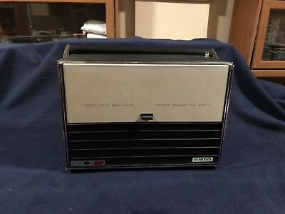 Ross Solid State World Master Multi Band Portable Radio Model 2311