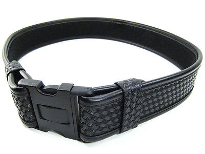 "Bianchi AccuMold Elite Law Enforcement Duty Belt Basket Black 28-34"" Model 7950"