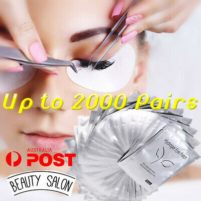 500X Eye pads Eyelash Pad Gel Patch Lint Free Lashes Extension Mask Eyepads YG