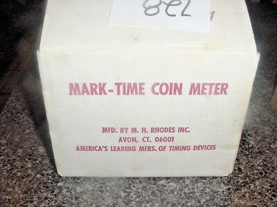Mark-Time Coin Meter Mechanism One Complete NOS 1 Partial