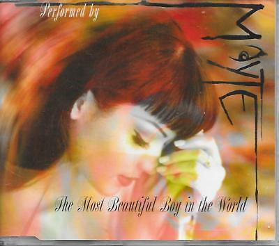 MAYTE - The most beautiful boy in the world CD SINGLE 2TR NPG 1994 (PRINCE) RARE