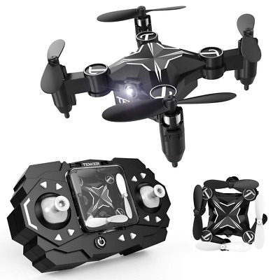Mini RC Drone Portable Pocket Quadcopter Altitude Hold Mode 3D Flips Easy Fly