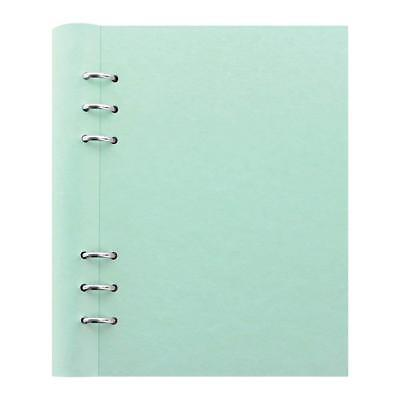 Filofax Clipbook Classic Pastel Refillable A5 Notebook - Duck Egg 8.25 x 5.75