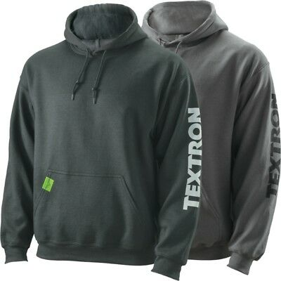 Textron Off Road Men's Knockout Relaxed Fit Medium Weight Hoodie - Black or Gray