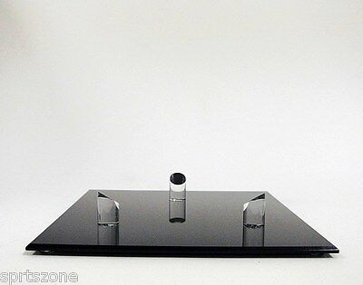 Deluxe Acrylic Basketball Soccer Football Black Base Display Stand