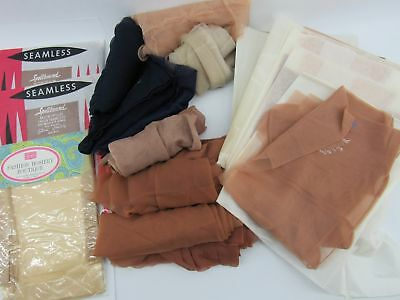5fd29adc3 18 PAIR OF Vintage Seamed   Seamless Nylon Stockings -  26.00