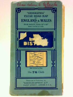 Geographia Clear Road Map of England & Wales (Unknown - 1111) (ID:76282)