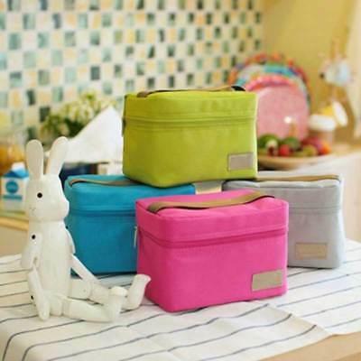Travel Oxford Insulated Cooler Thermal Picnic Waterproof Lunch Bag for Kid Adult