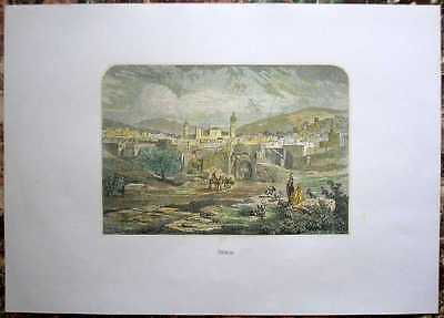 1860 Messmer print HEBRON, PALESTINE