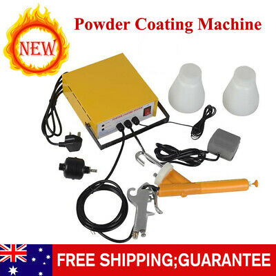 Portable Electrostatic Powder Coating Machine System PC03-5 Paint Spray Gun