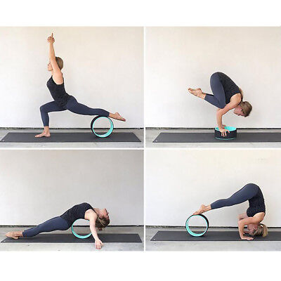 YOGA PILATES Wheel Circle Prop Back Chest Hips Abdomen Stretch Roller
