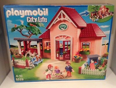 Playmobil 5529 City Life Vet Clinic Boxed With Instructions