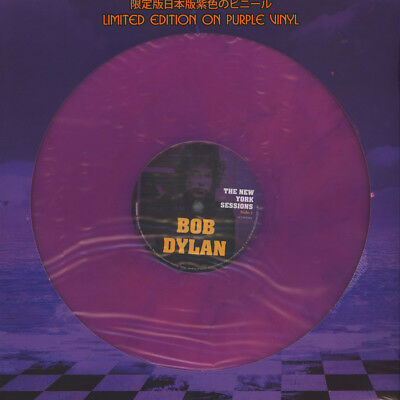 Bob Dylan - The New York Sessions Purple Vinyl  (LP - 2018 - EU - Original)