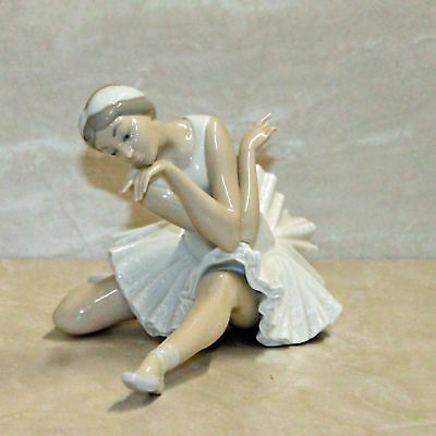 Lladro 4855, Death Of The Swan  AS IS  (bd_00051)