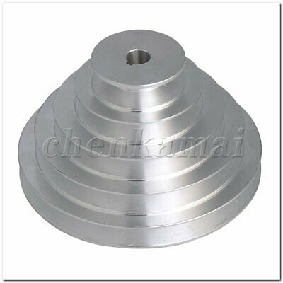 14mm Bore 5 Step A Type V-Belt Pagoda Pulley Belt Outter Dia 54-150mm