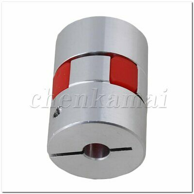 8mm x 14 mm CNC Jaw Plum Coupling Shaft Coupler D30 L40 Finish Maching Metal