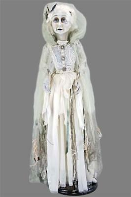 "Katherine's Collection Halloween Floating Lady in Mourning Doll 34"" NIB"