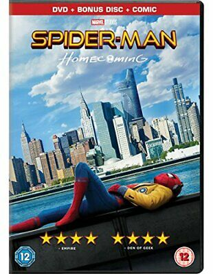 Spider-Man Homecoming [Limited Edition DVD + Comic] [2017] - DVD  X1LN The Cheap