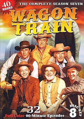 Wagon Train: Season 7 (DVD 8 disc)  NEW