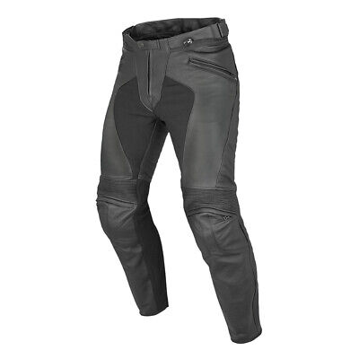 Dainese Pony C2 Black Leather Motorcycle Pants - New! Free P&P!