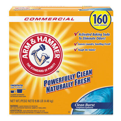 Arm & Hammer Powder Laundry Detergent Clean Burst 11.9 Lb 3/ctn 3320000109 NEW