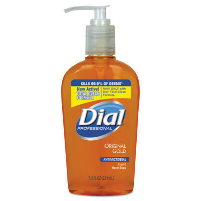 Dial Gold Antimicrobial Hand Soap Floral Fragrance 7.5oz 12/ctn 84014CT NEW
