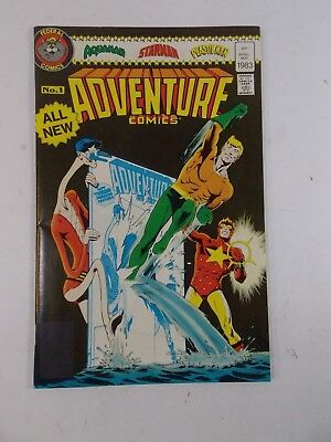 Federal Comics Adventure Comics #1 Dc Australia Variant 1983 Aquaman Flash