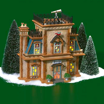 Dept 56 Dickens Village - Admiral's House Queens Port 58733 Display Anywhere New