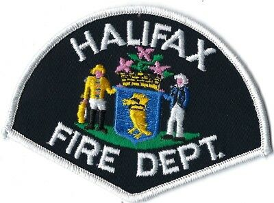 Halifax Canada Fire Department Patch
