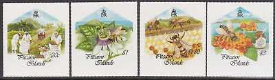 1999 Pitcairn Islands Honey Bees & China '99 - MUH Complete Set of 4 SA Stamps