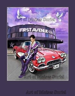 """Prince mural - Signed Limited Edition 11""""x 14"""" Art Print"""
