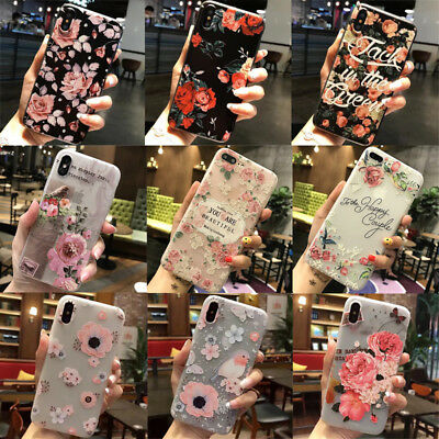 Pattern Soft TPU Back Phone Case Cover For Iphone 5  6 6S 7 8 Plus X XS Max