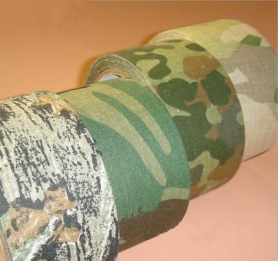 Army Camo Wrap Rifle Shooting Hunting Outdoor Camouflage Stealth Tape 5cm Wide