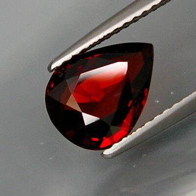 2.62Ct.Outstanding Color! Natural Red Spessartite Garnet Africa Eye Clean!