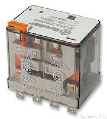 General Purpose Relay, 56 Series, Power, 4PDT, 230 VAC, 12 A