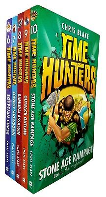 Chris blake Time hunters collection 6-10 books set paperback NEW