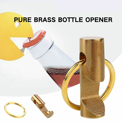 Mini Metal Beer Soda Bottle Opener With Key Ring Keychain Drink Bar Tool Gifts
