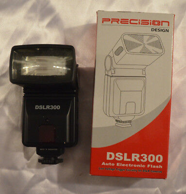 Precision Design Dslr300 Universal High Power Auto Flash Shoe