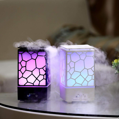 Essential Oil Diffuser 200ml Aromatherapy Humidifier Cool Mist Ultrasonic Aroma