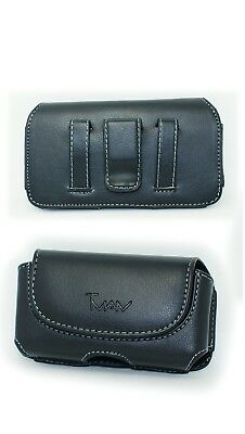 Belt Pouch Holster w Clip for iPhone XR (Fits with OTTERBOX Defender CASE)
