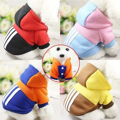 Winter Dog Coats Pet Cat Puppy Chihuahua Clothes Hoodie Warm for Small Dog