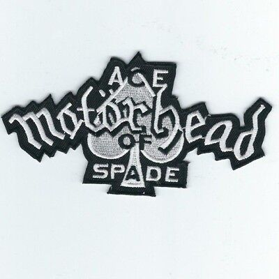 Motorhead Ace Of Spade Embroidered Patch !