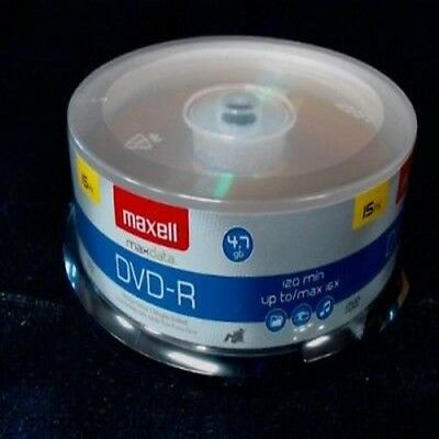 Maxell 16x Write-once Dvd-r Spindle - 15 Pack 638006