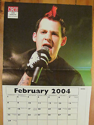 Good Charlotte, Joel Madden, Two Page Centerfold Poster