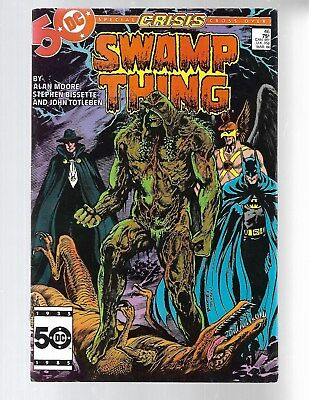 SWAMP THING Vol.2#46 1986 Alan Moore early JOHN CONSTANTINE Appearance VF>NM 9.0